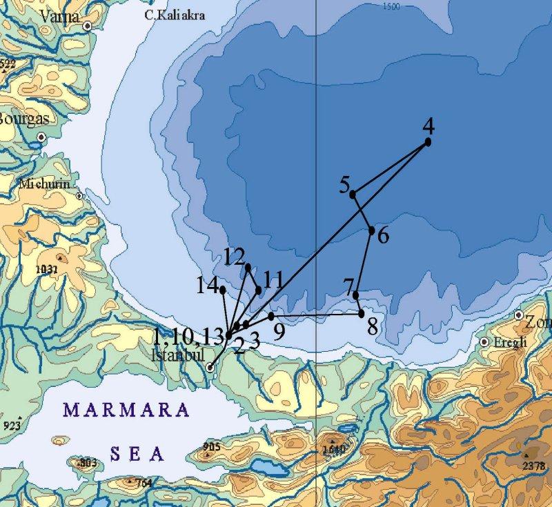 Knorr: Black Sea Cruise 2003