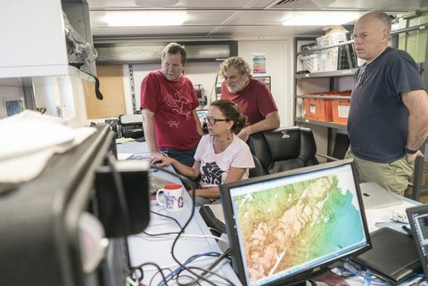Mapping the Seafloor Photo