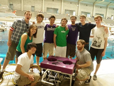 UW ROV group going to Florida